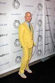 LOS ANGELES - FEB 27:  Ryan Murphy arrives at the PaleyFest Icon Award 2013 at the Paley Center For