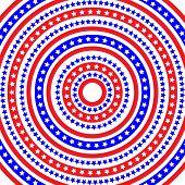 Patriotic Ring Pattern
