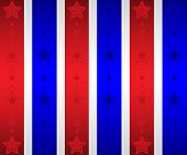 Patriotic Stars Wallpaper