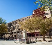 Mogao Grottoes, Dunhuang, Gansu Of China
