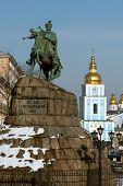 picture of hetman  - Famous Kiev landmarks  - JPG