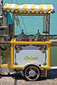 Ice cream carriage  Comacchio  Emilia-Romagna  Italy