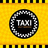 Taxi ronde symbool