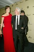 BEVERLY HILLS - JAN. 13: Carrie Lowell & Richard Gere arrive at the Weinstein Company's 2013 Golden