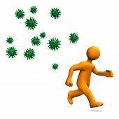 Virus-Gefahr