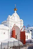 stock photo of perm  - temple Saint troitsk friary - JPG