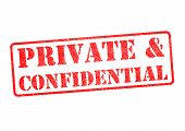 Private & Confidential Stamp