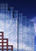 Blue Building III poster