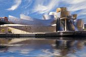 Guggenheim Bilbao museum reflection