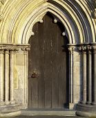 Salisbury Cathedral Door