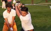 Lorenzo Vera at the golf Masters 13, 2013