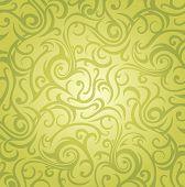 Green  Vintage Design