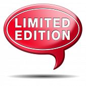 limited and restricted edition or offer. Temporal promotion of new product.