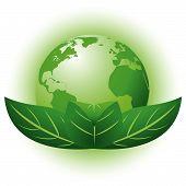 Постер, плакат: Зеленая планета