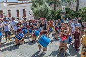 Ball De Diables At Festa Major In Sitges, Spain
