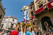 Ball De Pastorets At Festa Major In Sitges, Spain