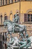 Cosimo Di Giovanni Degli Medici Statue In Florence, Italy
