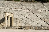 The Epidaurus, Ancient Theater In Greece