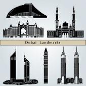 Dubai Landmarks And Monuments