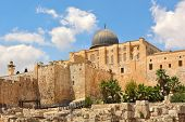 stock photo of aqsa  - Dome of Al - JPG