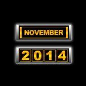 November 2014.
