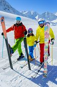 stock photo of apr  - Skiing - JPG