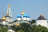 View to Trinity Lavra of St. Sergius in Sergiyev Posad, Russia