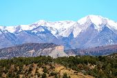 The La Plata Mountains...