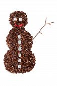 Coffee Snowman
