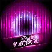 Disco background with place for your text