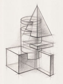 image of parallelepiped  - Illustration of Geometric Shapes - JPG