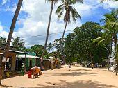 Diaca, Mozambigue - 4 Desember 2008: The Village. A Residential Building.