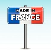 Made In France Signpost
