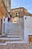 Alleyway. Ginosa. Puglia. Italy.