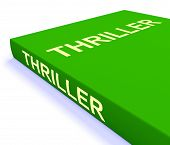 Thriller Book Shows Books About Action Adventure And Mystery