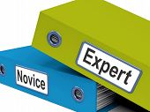 Expert Novice Folders Mean Learner And Advanced