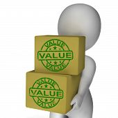 Value Boxes Show Product Quality And Worth