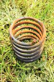 Corroded spring