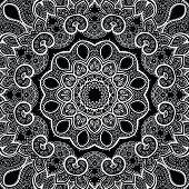 Lace background. Mandala.