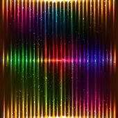 Neon vector lights background