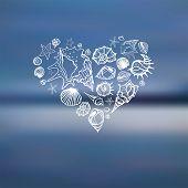 foto of bon voyage  - Heart of Sea shells - JPG