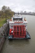 American Empress Riverboat In Portland Oregon