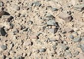 Stony Desert Ground Background
