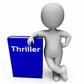 Thriller Book And Character Shows Books About Action Adventure Mystery