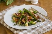 Pancetta With Asparagus