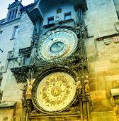 Orloj Astronomical Clock In Prague