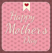 Happy Mother's Day Pink Card