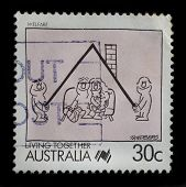 Australia Postage Stamp (1988)