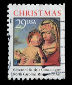 Usa. Postage Stamp Christmas Collection