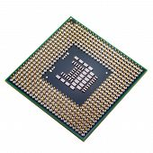 pic of processor socket  - copper CPU pins closeup image  - JPG